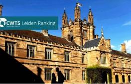 2018 CWTS 排行榜:悉尼大学问鼎全澳第一!世界第30!综合实力再添一筹